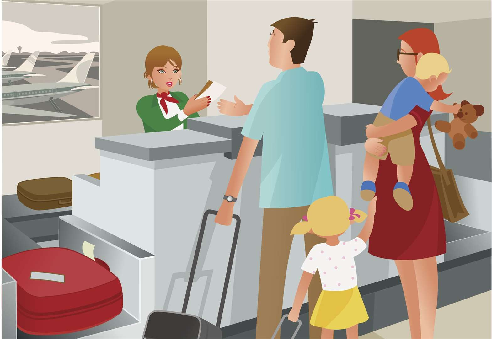 Mama Said: What's it like on a long haul flight with two small children?