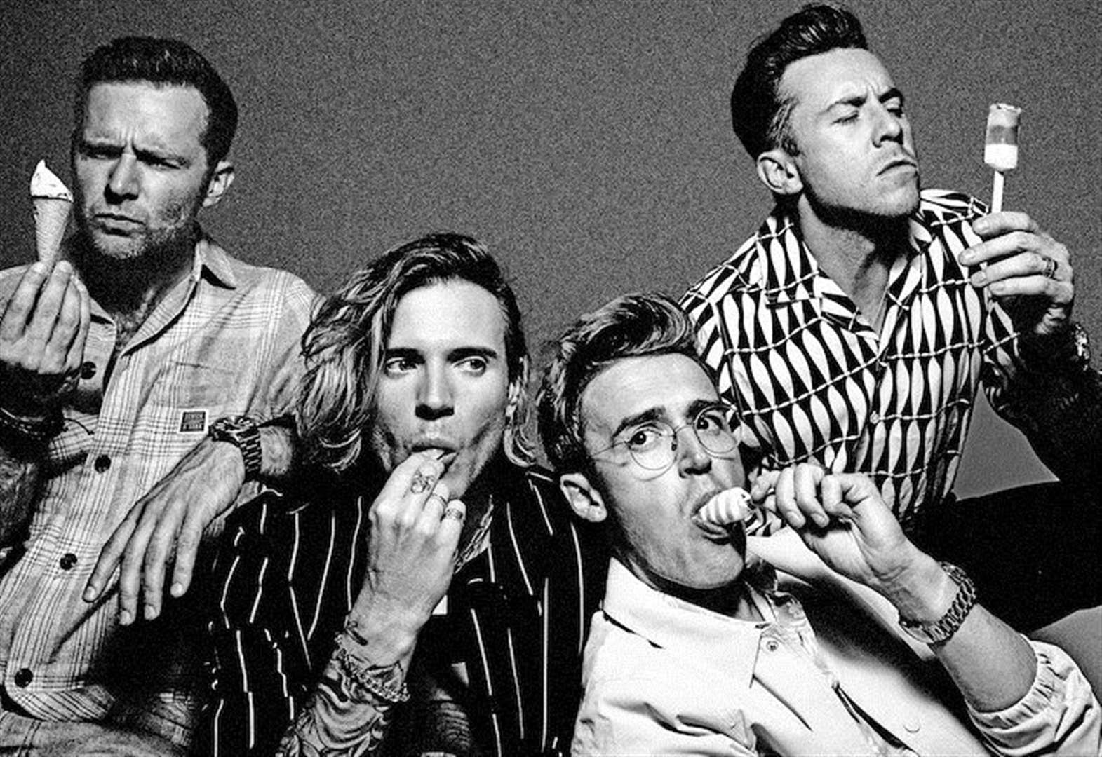 Look who's coming to Newmarket Racecourse next summer: It's . . . McFly