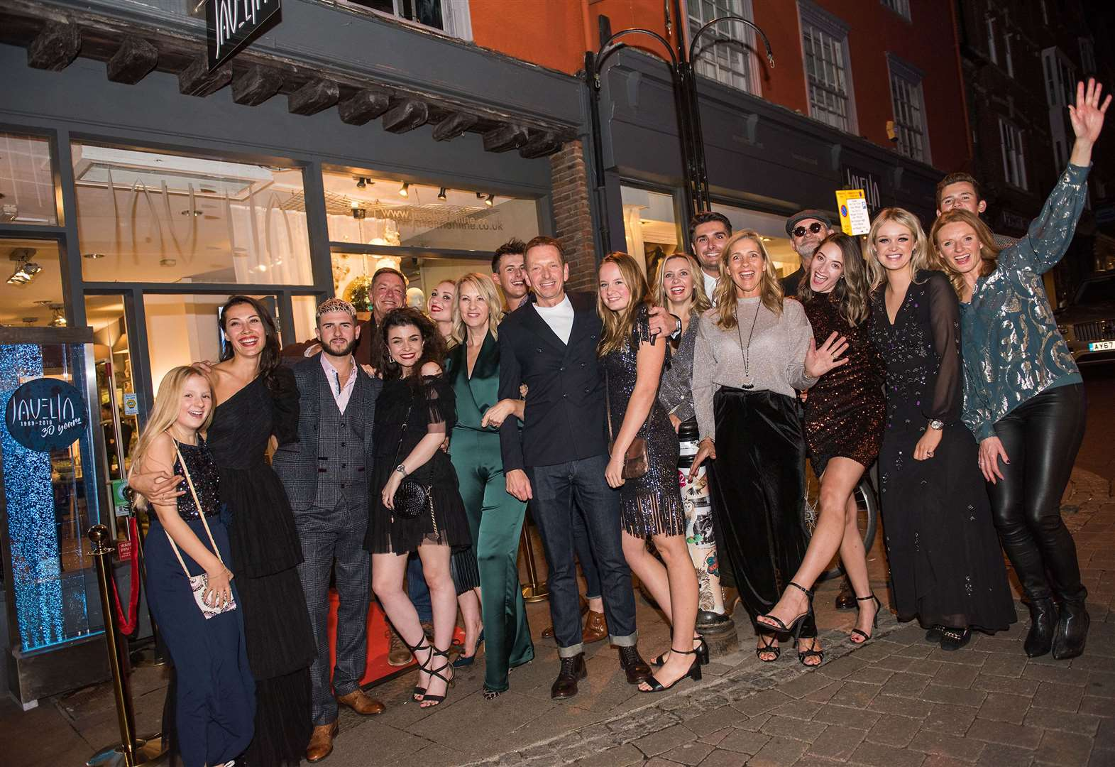 All the best pictures from Javelin's glamorous 30th Birthday Party