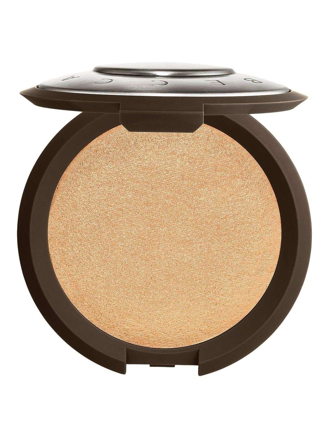 Becca Shimmering Skin Perfector Pressed Highlighter in Champagne Pop, £30, John Lewis & Partners, Grand Arcade, Cambridge (26884119)