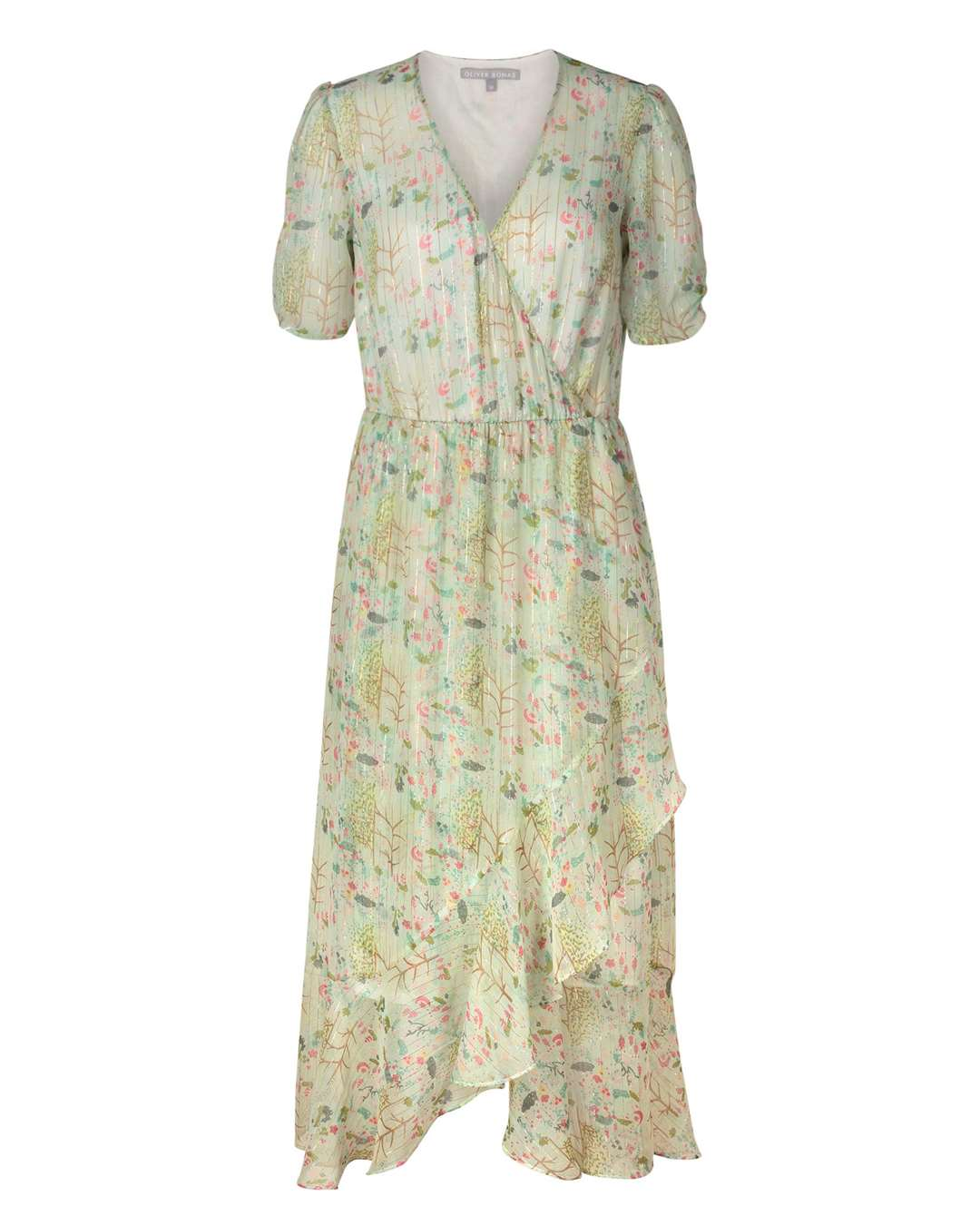TEA DRESS Oliver Bonas Storyteller Print Dress, £75 (13640741)