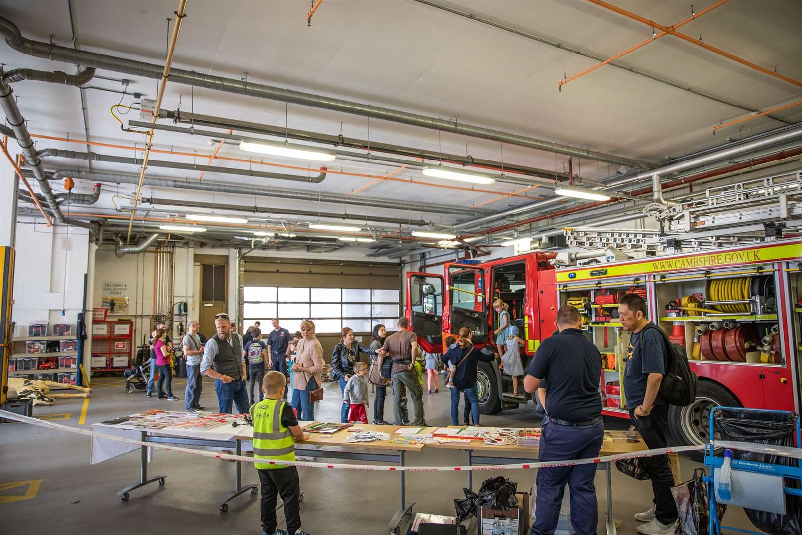 Open Cambridge Fire Station Tour (14737684)