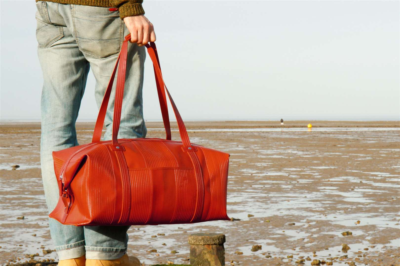 The Weekend Bag by Elvis and Kresse, made from discarded fire hose, £310.00, elvisandkresse(27647980)
