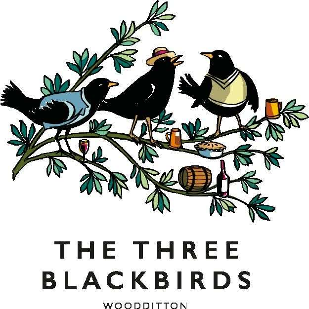 The Three Blackbirds, Woodditton (28826750)