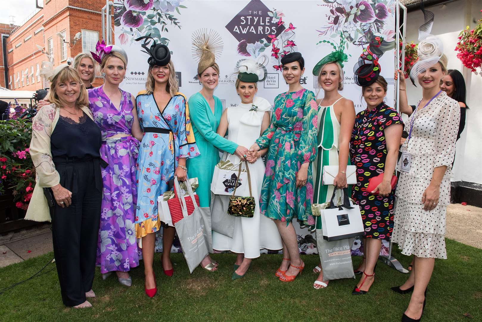 Newmarket July Course Ladies Day 2019Natalie White, of Newmarket, who won Best Dressed Lady at Ladies Day Picture by Mark Westley. (13824170)