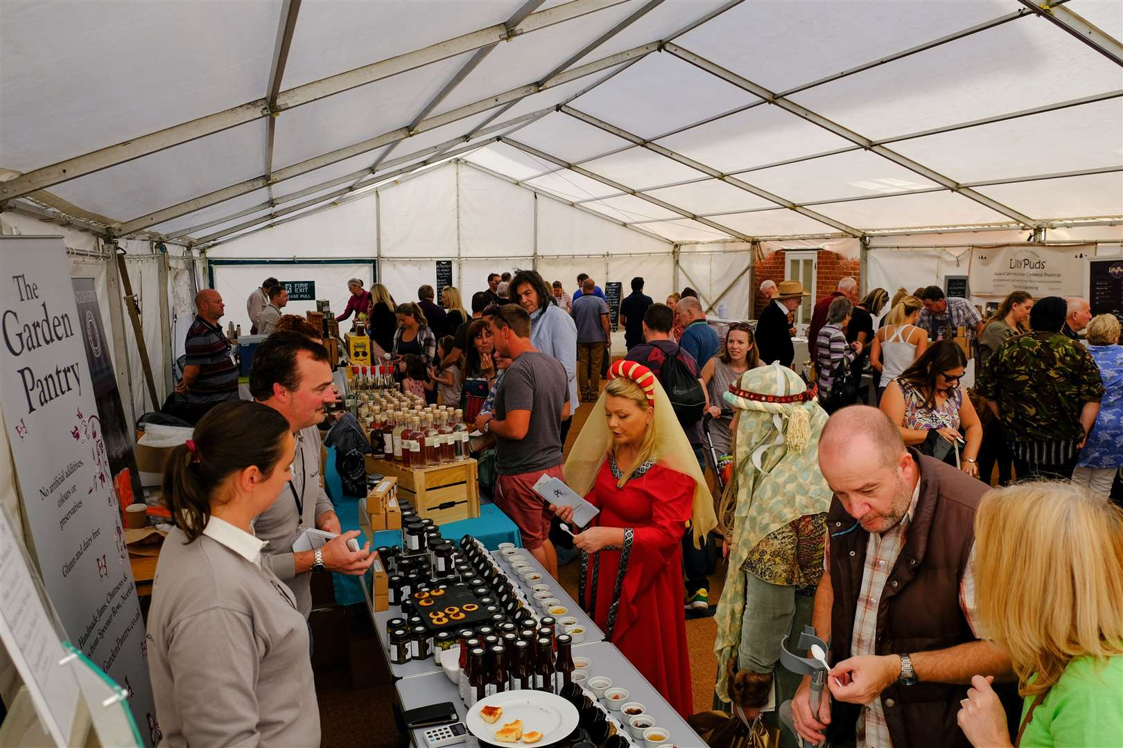 Stalls at Newmarket Food & Drink Festival (14200152)