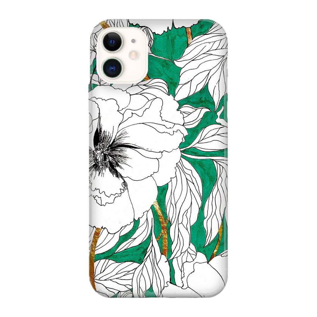 Marcella Wylie Green Peonies Phone Case (43247692)
